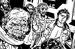 Uno zombie per Lukas!