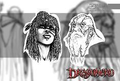 Dragonero - Gli studi 02