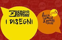 Lucca 2016: i disegni dei nostri autori!