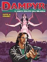 Il santo venuto dall'Irlanda - Dampyr 224 cover