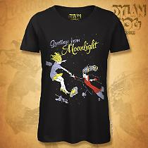 T-shirt Donna Dylan Dog - Il lungo addio