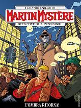 L'ombra ritorna! - Martin Mystère 361 cover