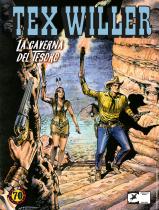 La caverna del tesoro - Tex Willer 4 cover