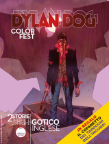 Gotico inglese - Dylan Dog Color Fest 28 cover