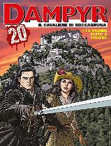 Il Cavaliere di Roccabruna - Dampyr 241 cover