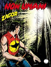 Non umani - Zagor 613 cover