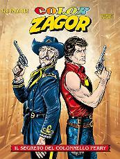Il segreto del Colonnello Perry - Color Zagor 04 cover