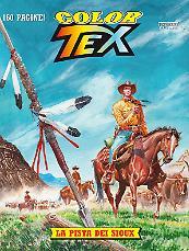 La pista dei Sioux - Color Tex 09 cover