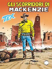 Gli scorridori di Mackenzie - Tex 670 cover