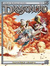 Tagliatrice crudele - Dragonero 39 cover