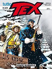 Corte marziale - Tutto Tex 549 cover
