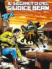 Il segreto del giudice Bean - Tex Tre Stelle 635 cover
