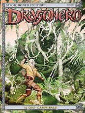 Il dio cannibale - Dragonero 44 cover