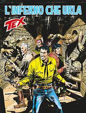 L'inferno che urla - Tex 675 cover