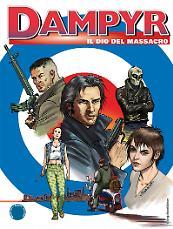 Il dio del massacro - Dampyr 206 cover