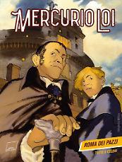 Roma dei pazzi - Mercurio Loi 01 cover