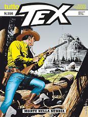 Morte nella nebbia - Tutto Tex 556 cover