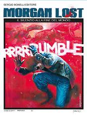 Il silenzio alla fine del Mondo - Morgan Lost 22 cover