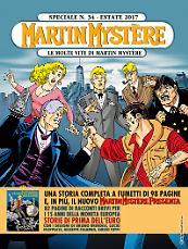 Le molte vite di Martin Mystère - Speciale Martin Mystère 34 cover