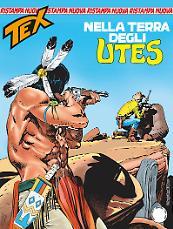 Nella terra degli Utes - Tex Nuova Ristampa 424 cover
