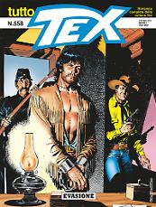 Evasione - Tutto Tex 558 cover