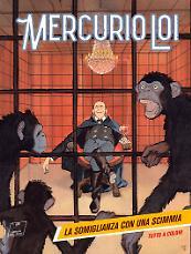La somiglianza con una scimmia - Mercurio Loi 09 cover
