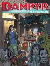 Il giocattolaio - Dampyr 214 cover