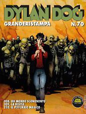 Dylan Dog Granderistampa n°70 cover