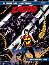 Le creature del buio - Speciale Zagor 30 cover