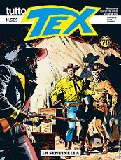 La sentinella - Tutto Tex 565 cover