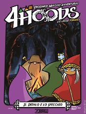 Il dedalo e lo specchio - 4Hoods 3 cover