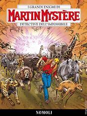 Nomoli - Martin Mystère 357 cover