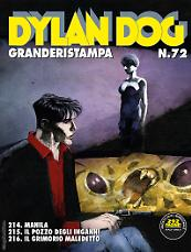 Dylan Dog Granderistampa 72 cover