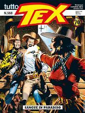 Sangue in paradiso - Tutto Tex 568 cover