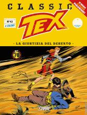 La giustizia del deserto - Tex Classic 43 cover