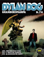 Dylan Dog Granderistampa n°73 cover