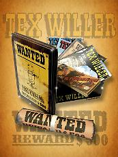 Tex Willer Wanted Box