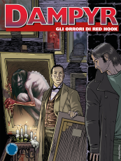 Gli orrori di Red Hook - Dampyr 225 cover