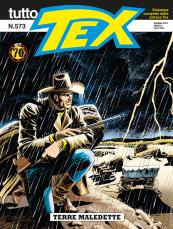 Terre maledette - Tutto Tex 573 cover