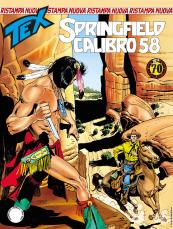 Springfield calibro 58 - Tex Nuova Ristampa 441 cover
