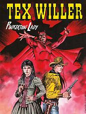 Pinkerton Lady - Tex Willer 10 cover