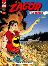 L'eroe di Darkwood - Zagor Le Origini 06 cover