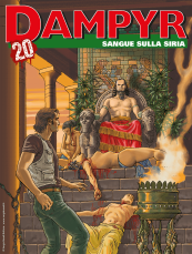 Sangue sulla Siria - Dampyr 245 cover