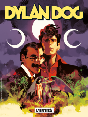 L'entità - Dylan Dog 407 cover
