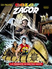 La missione di Drunky Duck - Color Zagor 12 cover