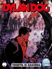 Vendetta in maschera - Dylan Dog 415 cover