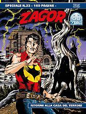 Ritorno alla Casa del Terrore - Speciale Zagor 33 cover