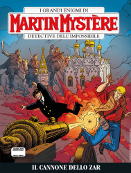 Il cannone dello Zar - Martin Mystère bimestrale 369 cover