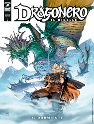 Il Dormiente - Dragonero Il Ribelle 10 cover