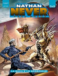 La rana e lo scorpione - Nathan Never Deep Space 03 cover